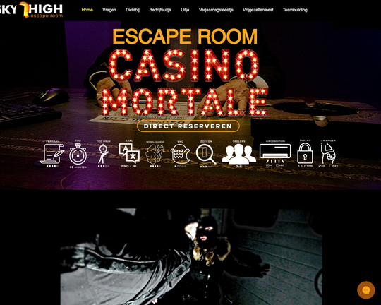 Sky High Escape Room Logo